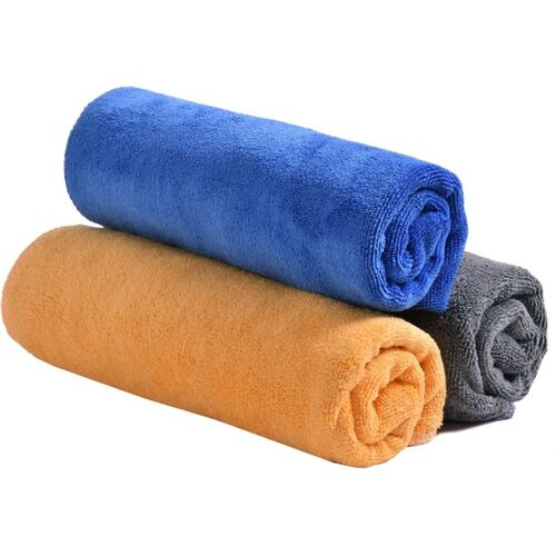 YELLOW WEAVES Microfiber 350 GSM Hand, Face, Sport Towel Set(Pack of 3)