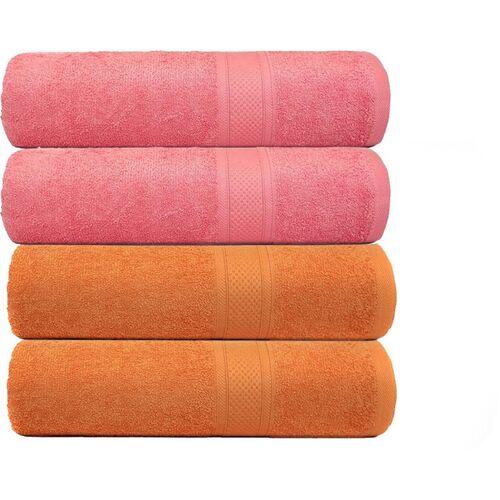 MAFATLAL Cotton 450 GSM Hand Towel Set(Pack of 4)