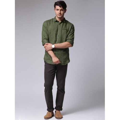 Olive Green Shirts For Men Custom Shirt