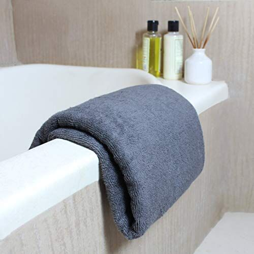 Heelium Bamboo Bath Towel - 400 GSM, Ultra Soft, Quick Dry, Lightweight & Odour Free, 140 x 70 cm