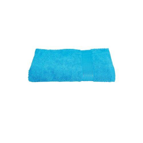BIANCA Unisex Turquoise Blue Solid 380 GSM Bath Towel