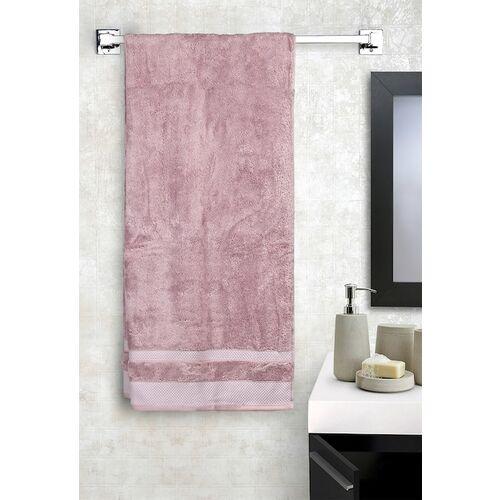 SPACES Unisex Purple Solid Lilac 600GSM Standard Bath Towel