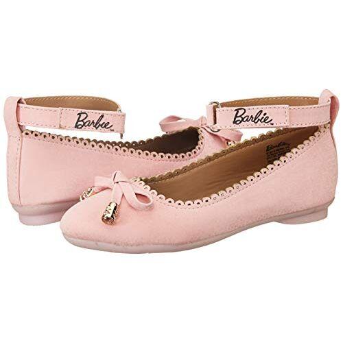 Barbie Girl's Pink Ballet Flats
