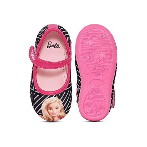 Barbie Kids Girls Purple/Sky Blue Ballerina by Toothless Ballet Flats