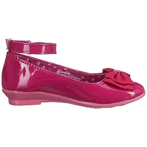 Barbie Girl's Pink Indian Shoes - 10 Kids UK/India (28 EU)(STY-18-19-000710)