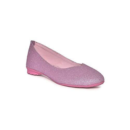 Barbie Kids Girls Pink Ballerina by Toothless Ballet Flats