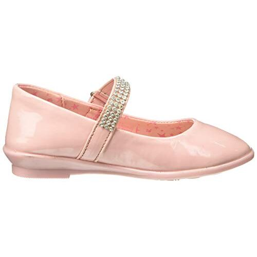 Barbie Girl's Peach Indian Shoes - 10 Kids UK/India (28 EU)(STY-18-19-000714)