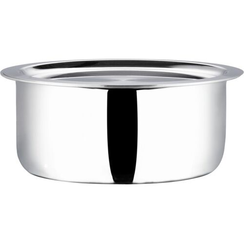 Vinod Platinum Triply Tope with Lid 5.8 L capacity 26 cm diameter(Stainless Steel, Induction Bottom)