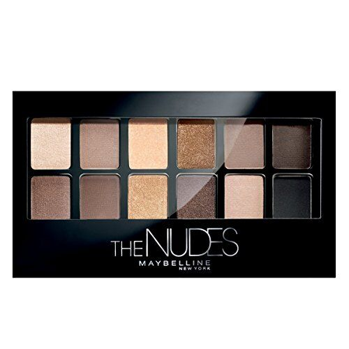Maybelline New York The Blushed skin s Palette Eyeshadow, 9g And Maybelline New York The skin s Palette Eyeshadow, 9g