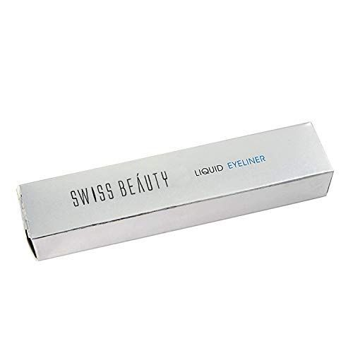Swiss Beauty Eyeliner, Eye MakeUp, Black, 7ml