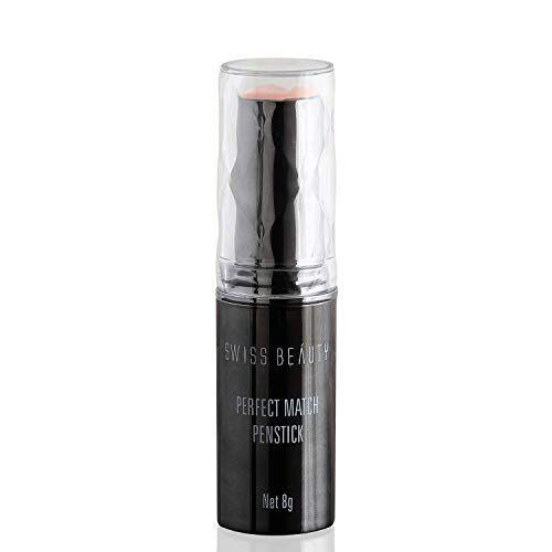 Swiss Beauty Perfect Match Foundation Panstick, Face MakeUp, 8g