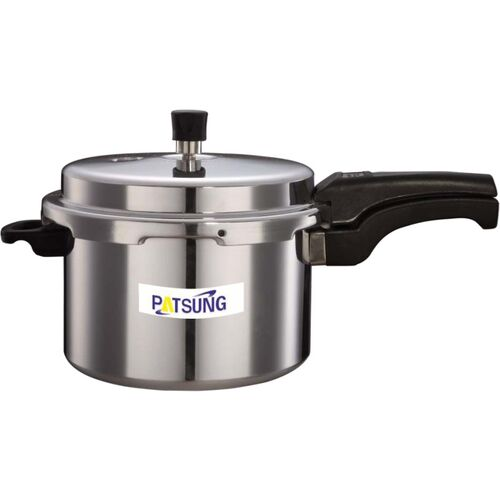 Patsung ISI CERTIFIED WITH 4MM WROUGHT THICKNESS 5 L Pressure Cooker(Aluminium)