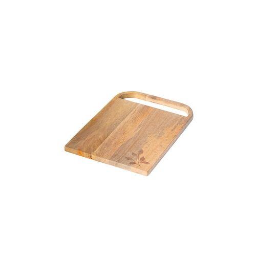 Mango ellementry Brown Solid Twiggy Wooden Chopping Board