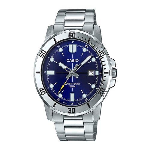 CASIO Enticer Men Blue Analogue Watch A1364 MTP-VD01D-2EVUDF