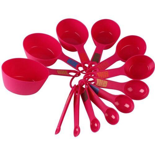Spaces INKULTURE Plastic Measuring Spoon Set(Pack of 12)