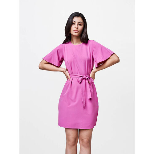 AND Lavender Regular Fit Dress