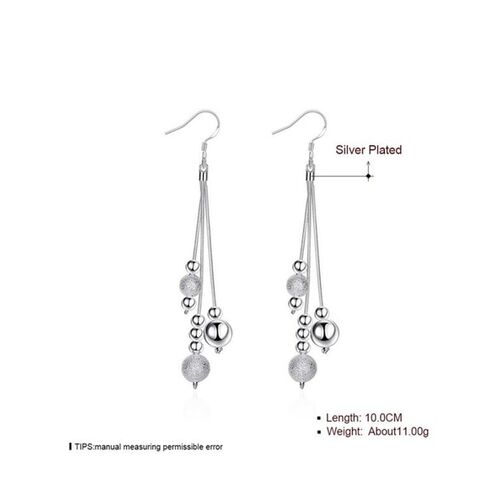Jewels Galaxy Brass Dangler Earrings