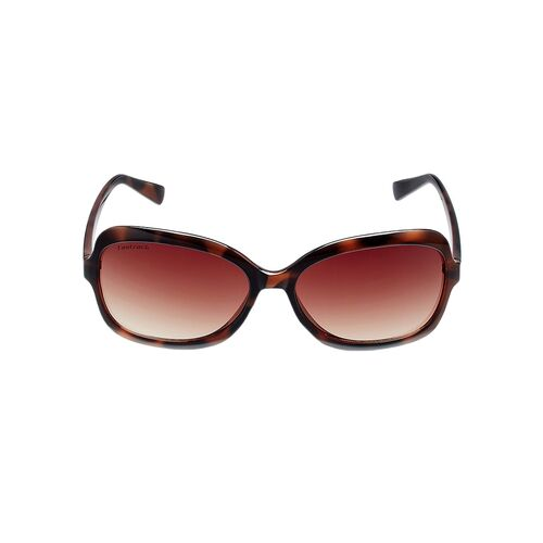 fastrack butterfly women brown sunglass - p183br1f