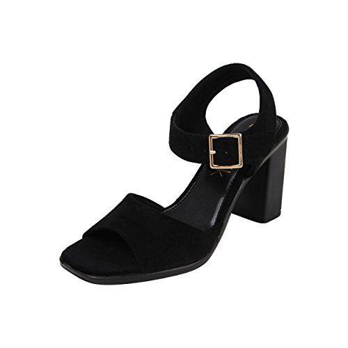 Catwalk Women's Black Fashion Sandals