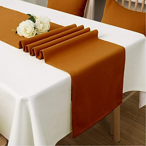 Atariya Table Runner Cotton for Dining Table, Premium Fabric, Luxury Dining Table Runner - 4 to 6 Seater,