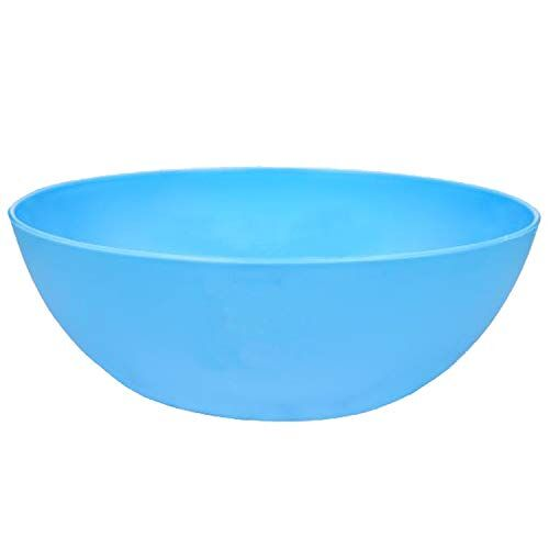 Kuber Industries Plastic Solid Mixing Bowl - 500ml, 1000ml, 6 Piece, Multicolour