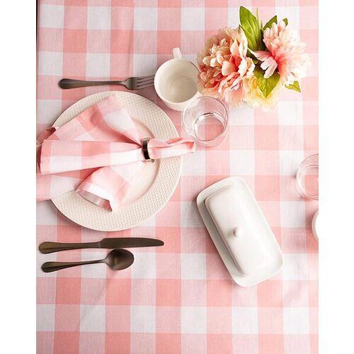 Lushomes Set of 6 Checked Table Napkins