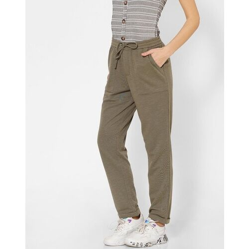 Only Flat-Front Pants with Drawstring Waist