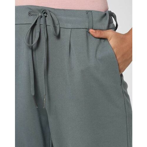 Only Pleated Pants with Semi-Elasticated Waist