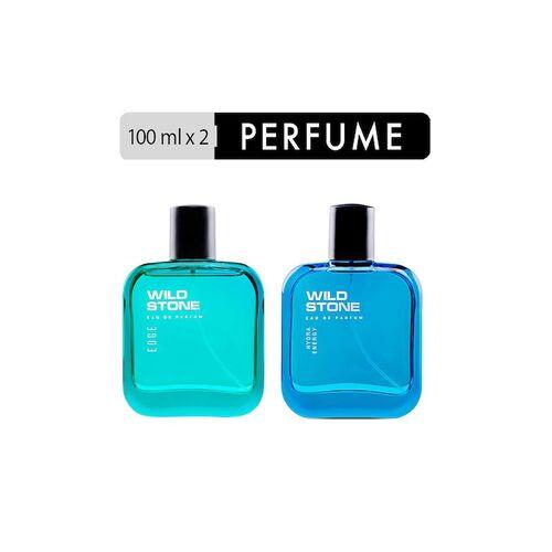 Wild stone Set of Edge & Hydra Energy Eau de Parfums 100 ml each