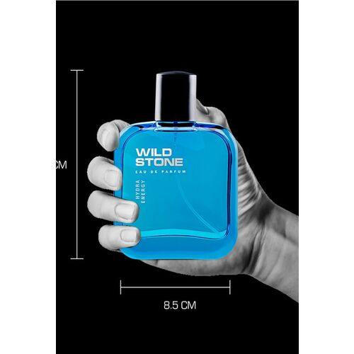 Wild Stone Men Pack Of 2 Blue Hydra Energy Eau De Parfum 200 ml
