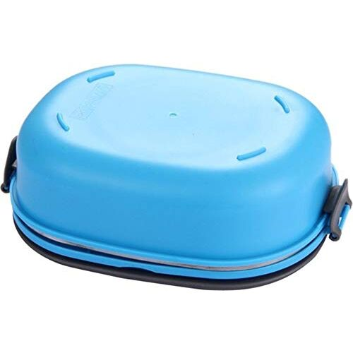TEDEMEL Lunch/Dinner Tiffin Box for School Office Airproof Vacume, Inner Stainless Steel Lunch Box 900ML