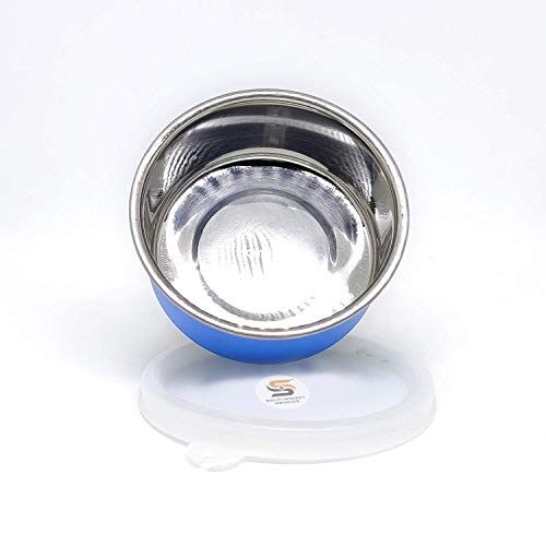 S&S Stainless Steel Airtight Microwave Safe Men Women Tiffin Lunch Box Container for Office (-) (-) (- in ML)