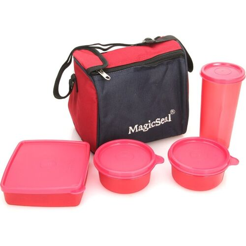 POLYSET Magic SeaL - Luxur 4 Containers Lunch Box(990 ml)
