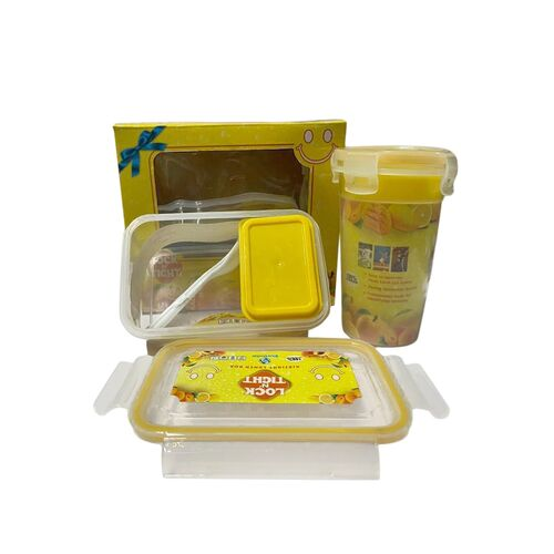 plastic lunch box container