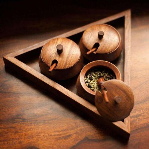 Career 6 Piece Spice Set(Wooden)