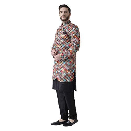 hangup mens Extras size (3pc_S29BlackSilkKP)