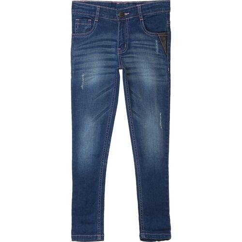 612 League Regular Girls Blue Jeans