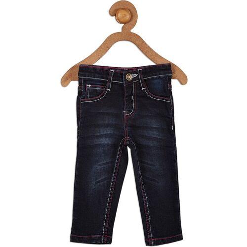 612 League Regular Baby Girls Blue Jeans