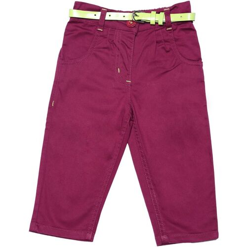 612 League Regular Baby Girls Brown Jeans