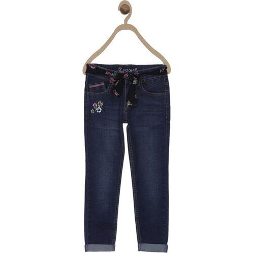 612 League Regular Girls Dark Blue Jeans