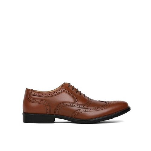Bata Perforations Oxfords with Lace Fastening