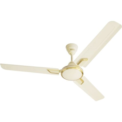 USHA Airostrong Angle 1200 mm 3 Blade Ceiling Fan(Metallic Ivory, Pack of 1)