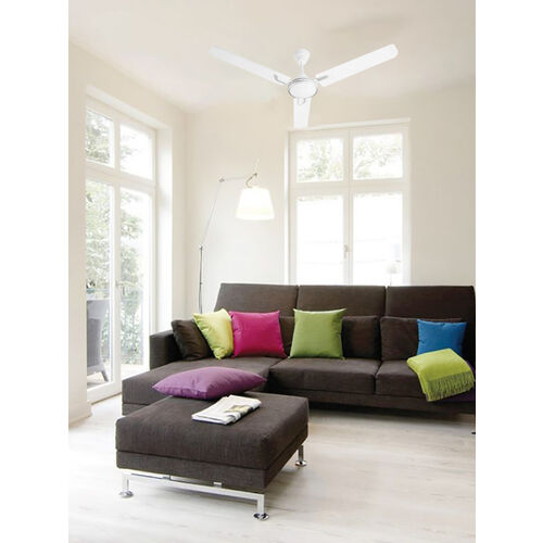 Usha Airostrong Angle 1200 mm 3 Blades Ceiling Fan (Metallic White)