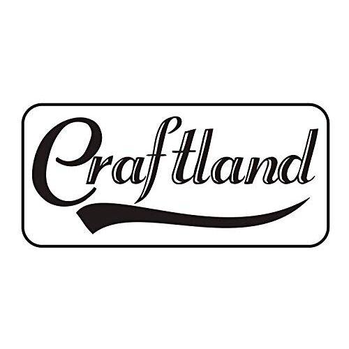 Craftland Cast Iron 2 Tier Spice Rack, Medium, White