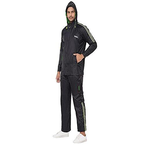 ZEEL Reversible Design Waterproof Rainsuit Pant Style With Contrast Stripes for Men
