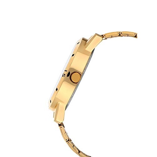 MUTAQINOTI Brown Leather Strap Analog Wrist Watch for Men (MQWT-TM-4) Japanese Quartz