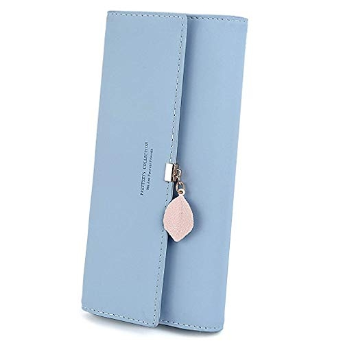 PALAY® Synthetic Leather Wallet with Pendant Card Holders
