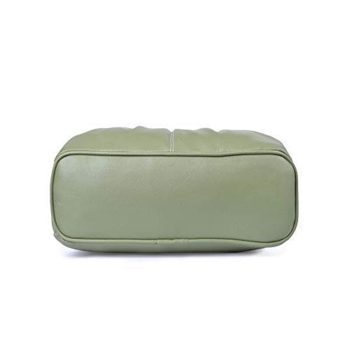 Fristo Green Polyurethane Handbag