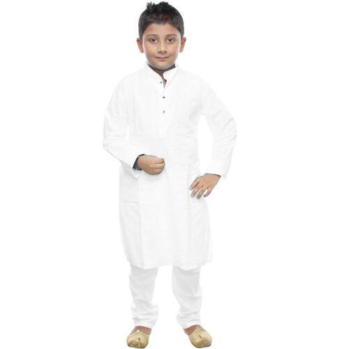NFC Boys Festive & Party, Formal, Casual Kurta and Pyjama Set(White Pack of 2)