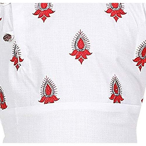 XBOYZ Boys Festive & Party Embroidery Kurta and Pyjama Set